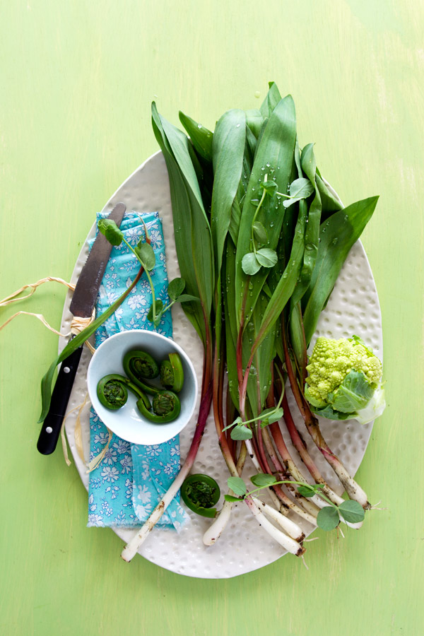 ramps fiddleheads spring veggies