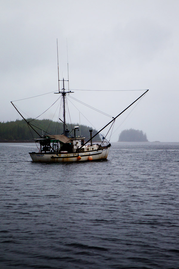 commercial fishing boat alaska